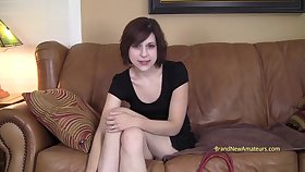 casting teen  - Christie - Amateur Sexual relations