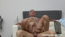 Senior guy ass fucked by young twink in gay XXX